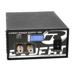 Robitronic Alimentatore Expert 40A, LCD, USB (art. R01021)