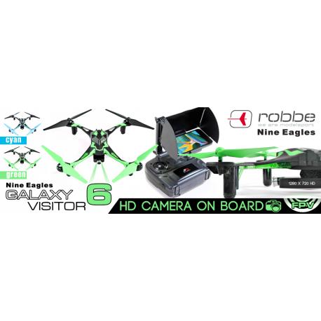 Nine Eagles Galaxy Visitor 6 VERDE RTF Mode 1 (art. NE2533M1)