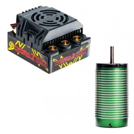 MAMBA Monster 2 1/8 Waterproof ESC e Motore 2200Kv (art. CSE010010801)