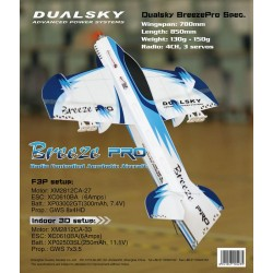Dualsky Aeromodello Indoor Breeze EVO (art. DS21062)