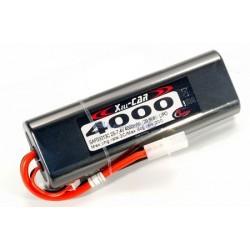Rc System Batteria Li-po 7,4V 4000mAh 20C TAMIYA (art SAF09013C)