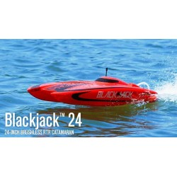 Pro Boat Catamarano Blackjack 24 inch Brushless RTR (art. PRB08007C)