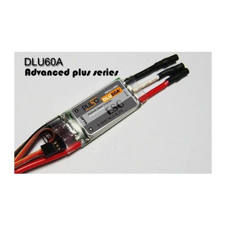 Pulso Regolatore DLU60A++ (60A) Opto NO BEC (art. DLU60A++)