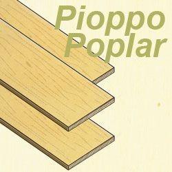 Eurokit Tavoletta Compensato Pioppo da 5x400x500 (COP/99464/000)