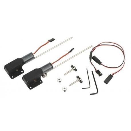 E-Flite Coppia carrelli retrattili elettrici 10-15 (art EFLG100)