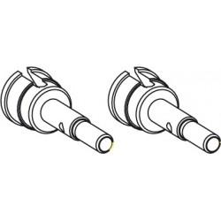 Jamara Asse ruota 2 pezzi per Splinter (art. 505090)