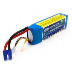 E-flite Batteria Li-Po 3S 11,1V 3000mAh 30C per Drone QX3 (art. EFLB30003S30)