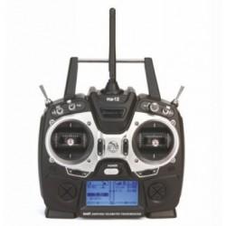 Graupner Radiocomando MZ-12 HoTT 6 canali con Rx GR-12L (art. S1002.12)
