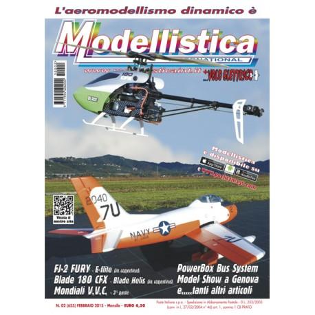 Modellistica Rivista di modellismo n°02 Febbraio 2015
