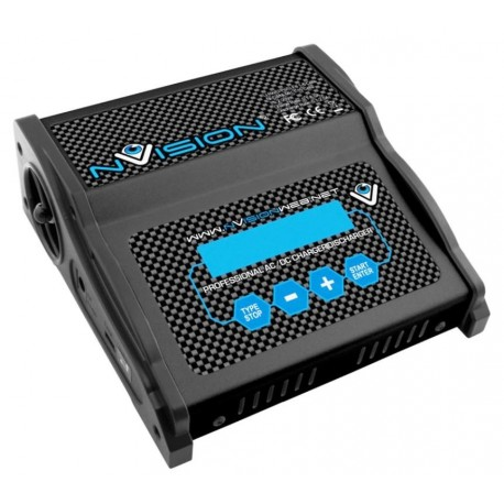 nVision Caricabatterie 80W AC/DC 12/220V 6S (art. NVO2005)