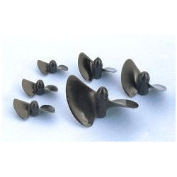Graupner Elica 2 Pale 37,5mm rot Sinistra M4 (art. 2303.37L)