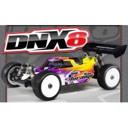 Durango Automodello DNX8 1/8 Nitro 4WD Buggy Kit (art. TD102040)