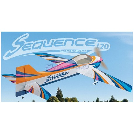 Great Planes Aeromodello Sequence .120 EP/GP ARF (art. GPMA1232)