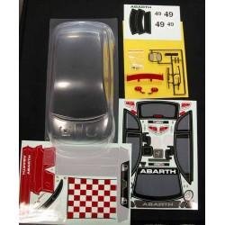 EZpower Fiat 500 Abarth con Decals e Accessori (art. EZQR10520)