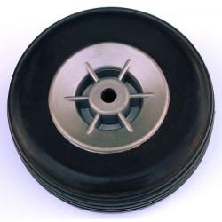 Eurokit Coppia ruote in gomma cerchio Nylon 55mm (art. RUO/34370/000)