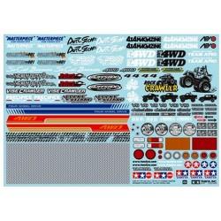 Tamiya RC Sponser Sticker Set - Off Road Car (art. TO/54630)
