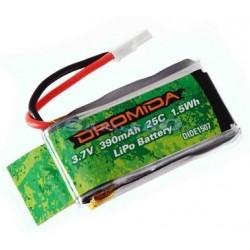 Hobbico Batteria Li-Po 3,7V 390mAh 1S 25C per Kodo (art. DIDE1507)