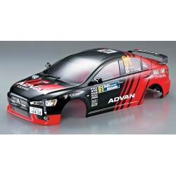 Carrozzeria Mitsubishi Lancer EVO 190mm verniciata (art KB48002)