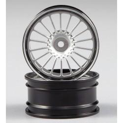 Killerbody Alfa TZ 3 Cerchi Metallo CNC Silver (art KB48306SIL