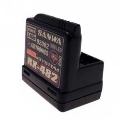 Sanwa Ricevente Car 482 FH4 4Ch 2,4GHz (art. SR-107A41257A)
