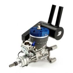 Evolution Motore a Benzina 33GX 33cc con marmitta (art. EVOE33GX)