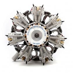 Motore stellare 7 Cilindri 160cc 4 tempi Gas (art. EVOE7160)
