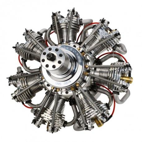 Motore stellare 7 Cilindri 260cc 4 tempi Gas (art. EVOE7260)