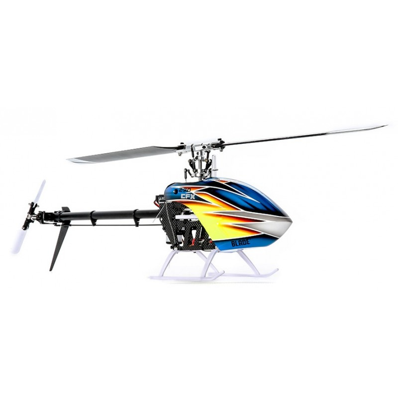 Elicottero Arancione : Blade elicottero elettrico cfx bnf basic art