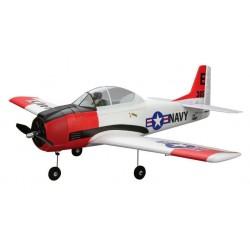 E-flite Aeromodello elettrico T-28 Trojan BNF Basic (art. EFL4450)