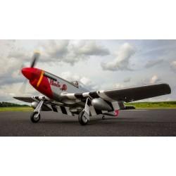 E-flite Aeromodello elettrico P-51D Mustang BNF Basic (EFL8250)