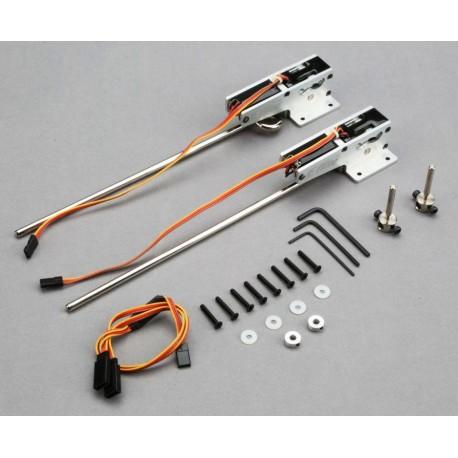 E-Flite Coppia carrelli retrattili elettrici 60-120 85° (EFLG510