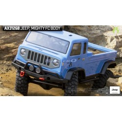 Axial Carrozzeria Jeep Mighty FC .04 trasparente (art. AX31268)