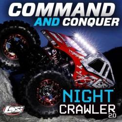 Losi Night Crawler 2.0 RTR 1/10 4WD Rock Crawler (art LOS03004I)
