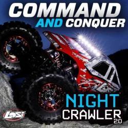 Losi Night Crawler 2.0 RTR 1/10 4WD Rock Crawler (art. LOS03004I)