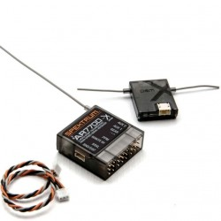 Spektrum Rx AR7700 di serie con PPM, SRXL, remote Rx (SPMAR7700)