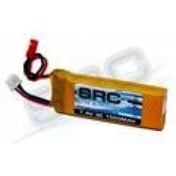 SRC Batteria Li-Po 7,4V 1500mAh 3C per RX (art. SRCLP1500-2S)