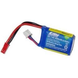 E-flite Batteria Li-po 7,4V 400mAh 2S 30C (art. EFLB4002S30)