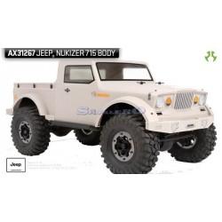 Axial Carrozzeria Jeep NuKizer 715 .04 trasparente (art AX31267)