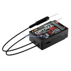 Hitec Ricevente Optima 9 SL 2,4GHz Full Range Flybarless (27224)