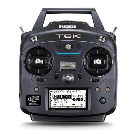 Futaba Radiocomando T6K con R3006SB FHSS Telemetry M1 (art 1106A