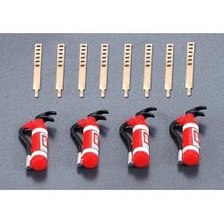 Killerbody Set estintori per automodelli 4 pezzi (art. KB48052)