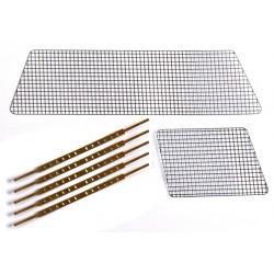 Killerbody Rete Protezione (metallo) 1/10 185x50mm (art KB48048)