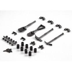"""Killerbody Plastic deco set """"tools outddor"""" (art. KB48256)"""