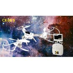 Drone CX-33 con radio e videocamera FPV 5,8GHz (art. CHCX-33S)