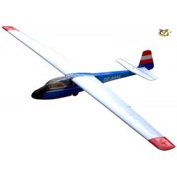 """VQ Model Veleggiatore KA-7 Glider V2 """"Austrian"""" ARF (art PA0072)"""