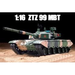 Carro armato ZTZ 99A MBT scala 1/16 con suoni e fumo (art. 3212)