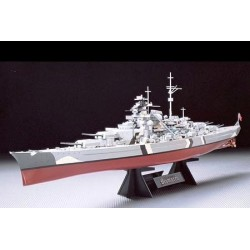 Tamiya German Battleship Bismarck scala 1/350 (art. 78013)