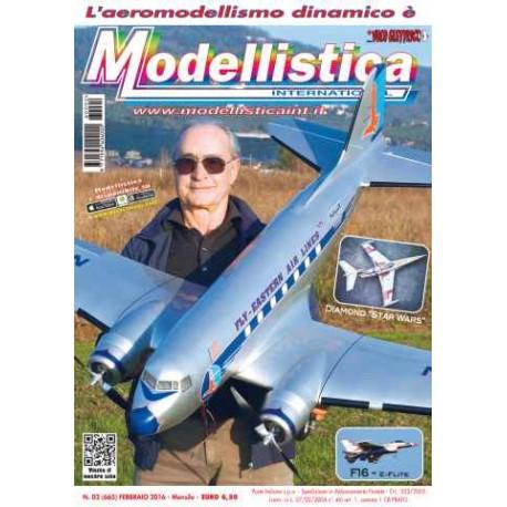 Modellistica Rivista di modellismo n°2 Febbraio 2016