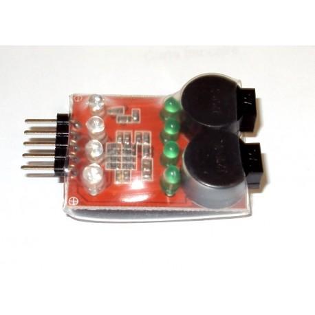 Mantua Model Tester per basso valore Li-po 2-3-4 S a led (art. 4694)