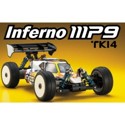 Kyosho Automodello Inferno MP9 TKI4 1/8 4WD (art. 33001B)